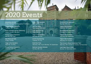 Kiplin Hall 2020 events