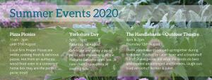 Summer Events 2020 - summary